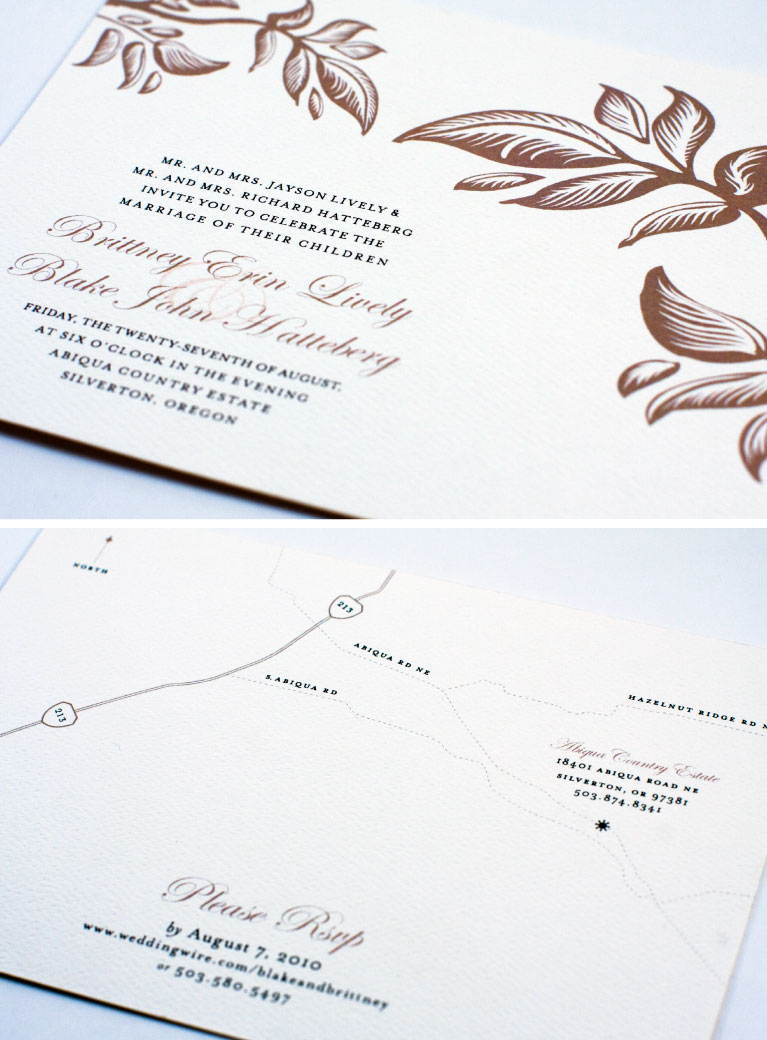 Portland, Oregon Graphic Designer, Portland Custom Wedding Invitations, Nature Inspired Wedding Invitations, Flora Fauna Designs, Jessica Kirkpatrick, Web Design, Print Design, Identity Design, Stationery Design